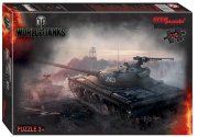 Пазлы 120 Wargaming. World of Tanks