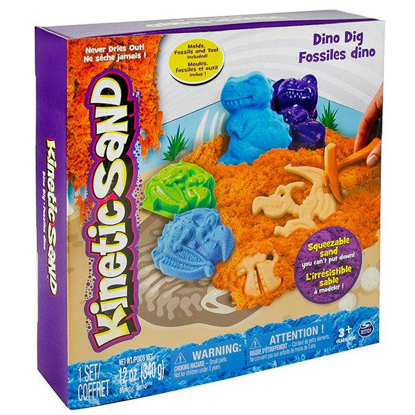 Песок для лепки Kinetic Sand. Игровой набор c формочками, 340 грамм, в ассортименте