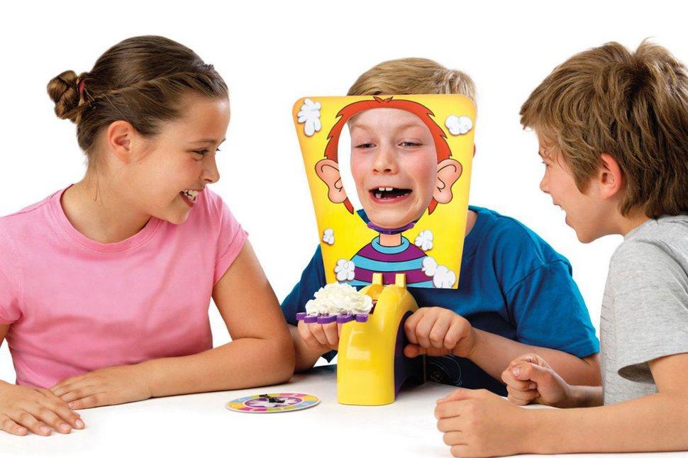 Пирог в лицо игра детская рулетка альфа стрит рулетка